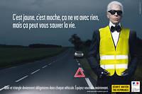 Pour une fois, la Sécurité routière n'avait pas manqué d'humour pour sa campagne