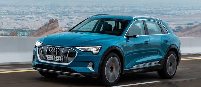 L'Audi e-tron dispense un confort de roulage étonnant dans un silence jamais troublé par des bruits parasites