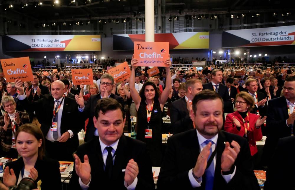 31st Party Congress of the CDU © ABDULHAMID HOSBAS/anadolu agency/AFP