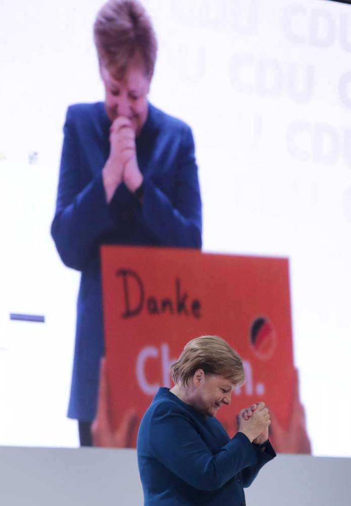 CDU federal party conference © KAY NIETFELD / DPA / AFP