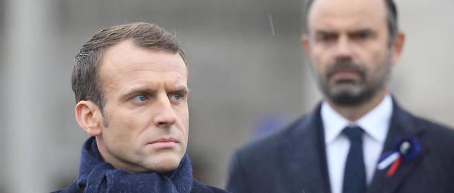 Le président de la République et le Premier ministre à Paris, le 11 novembre 2018 (photo d'illustration).