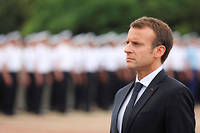 Dans un discours trop peu remarqué, le président de la République Emmanuel Macron observait le 12 novembre dernier que certains des contenus véhiculés sur le réseau l'ont conduit dans le mur.  ©LUDOVIC MARIN