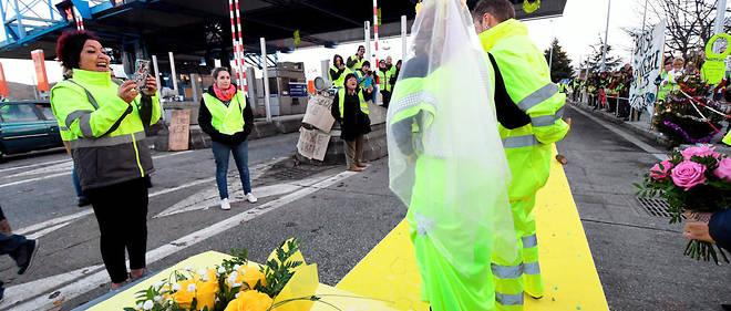 Gironde : l'amour en gilets jaunes