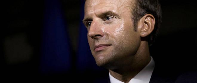 Emmanuel Macron s'est réuni avec les représentants des corps intermédiaires lundi matin à l'Élysée.