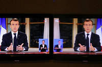 Emmanuel Macron est-il encore en mesure de convaincre les Français ?  ©LUDOVIC MARIN