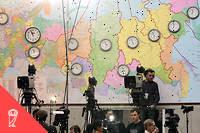 Des chercheurs se sont intéressés aux techniques utilisées pour influencer le vote des citoyens russes lors des élections de 2011-2012.  ©YURI KADOBNOV