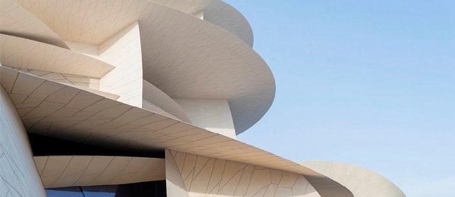 Le futur Musée national du Qatar ouvrira en mars 2019, à Doha..  ©Iwan Baan