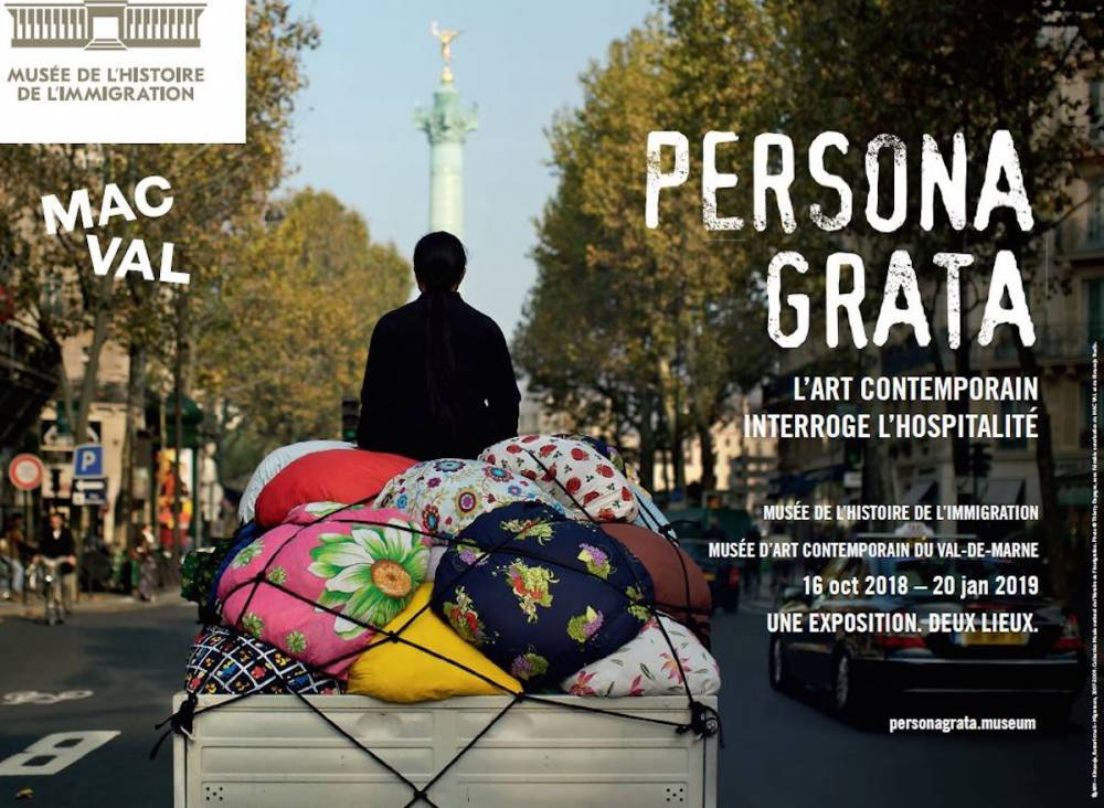 Affiche de l'exposition « Persona grata ».  ©  Benedicte Duchesne