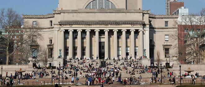 L'université de Columbia, dans l'État de New York.