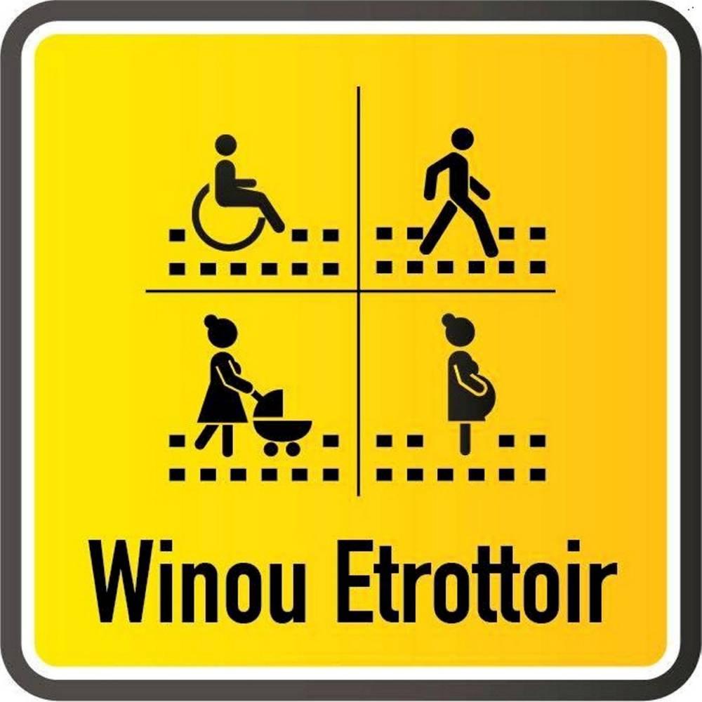 Le logo de Winou Ettrotoir, qui compte aujourd'hui plus de 100 000 adhérents.  ©  Winou Etrottoir/Facebook