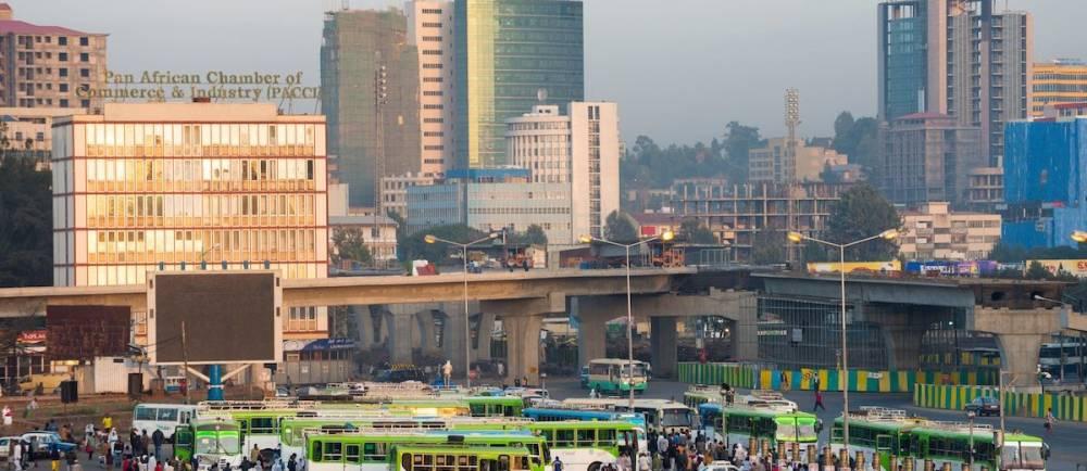 La majeure partie des investissements en Éthiopie est d'origine étrangère.  ©  AFP / Yannick Tylle