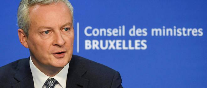 Bruno Le Maire a également confirmé l'objectif de baisser l'impôt sur les sociétés d'ici à 2022.