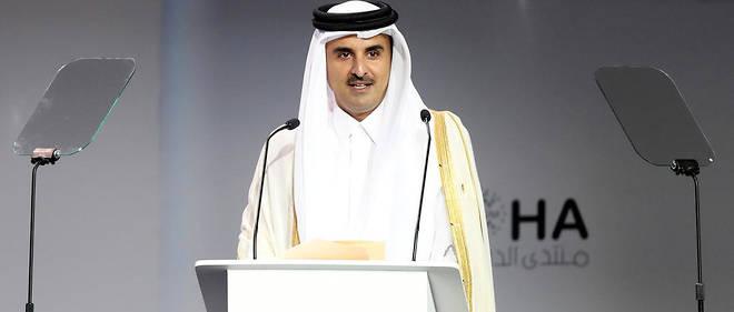À l'ouverture du Forum de Doha, l'émir du Qatar, le cheikh Tamim ben Hamad al-Thani, a réclamé la fin de l'embargo imposé par l'Arabie saoudite et les Émirats arabes unis à son pays.