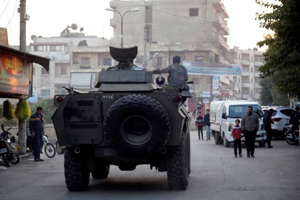 SYRIA-CONFLICT-AFRIN © BAKR ALKASEM / AFP