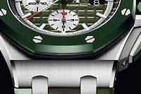 L'an prochain, Audemars Piguet passe sa Royal Oak Offshore en mode camouflage.