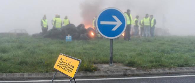 Plusieurs ronds-points ont été évacués simultanément dans toute la région.