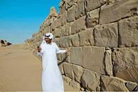 Le site archéologique d'al-Ukhdûd (Arabie saoudite), l'antique Najrân connue comme lieu de persécution d'une communauté chrétienne au début du VIe siècle.  ©Hasan Jamali/AP/SIPA