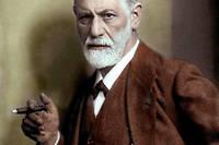 Portrait du docteur Sigmund Freud (1856-1939), psychiatre autrichien.