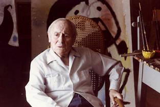 Joan Miró à Mont Roig.