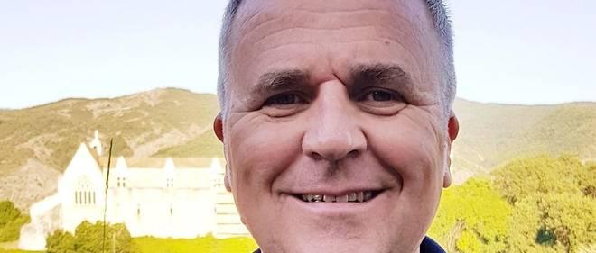 Jean-Michel Arnaud, maire de Tallard, près de gap dans les Hautes-Alpes.