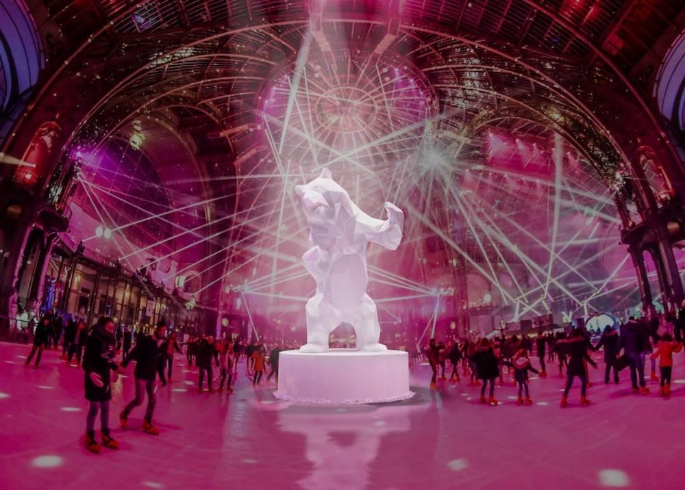 grand palais patinage © Didier Lefevre Grand Palais