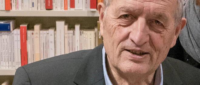 François Léotard en 2018.