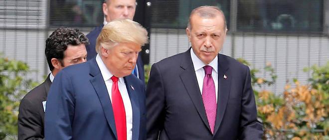 Donald Trump etRecep Tayyip Erdogan se sont longuement entretenus au téléphone.