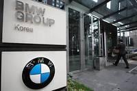 Le siège de BMW à Séoul en Corée