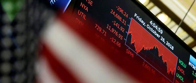 Les marchés financiers sont en net repli en 2018, la pire année depuis la crise de 2008, malgré une croissance mondiale favorable. Photo d'illustration.