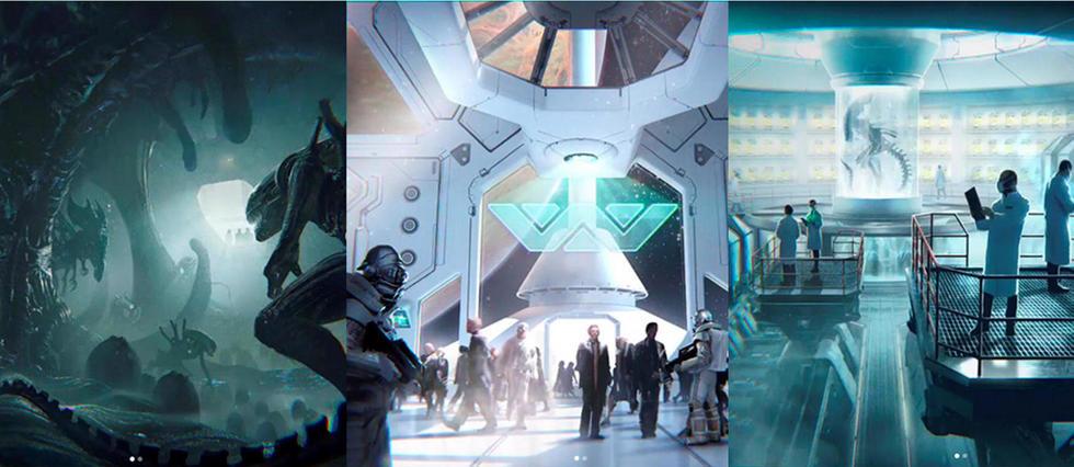 <p>Le prochain projet Alien</p>