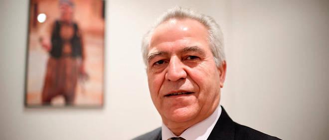 """Khaled Issa, représentant en France du Rojava (Kurdistan syrien) est membre du Parti de l'Union démocratique (PYD), lié au Parti des travailleurs du Kurdistan (PKK), considéré comme """"terroriste"""" par la Turquie et l'Union européenne."""