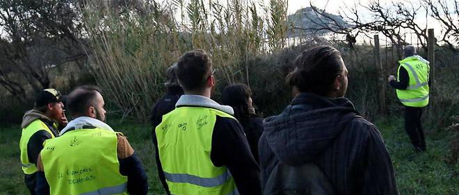 Une quarantaine de Gilets jaunes ont été bloqués par l'intervention de la gendarmerie.