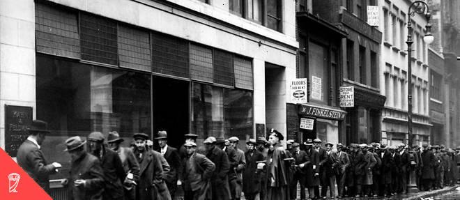 Pour des hommes de 20 à 64 ans, le taux d'emploi est désormais plus bas que pendant la Grande Dépression.