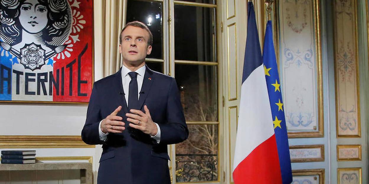 Vœux 2019 La Classe Politique Francaise Vent Debout Contre Macron Le Point