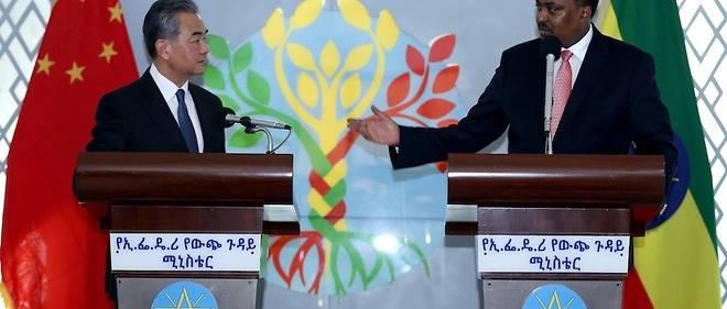 Le ministre chinois des Affaires étrangères, Wang Yi, a relativisé les inquiétudes liées à la dette de l'Afrique à l'égard de la Chine, à son arrivée jeudi en Éthiopie, première étape d'une tournée dans quatre pays africains.