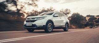 Honda CR-V Hybrid ©Richard Pardon