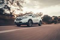 Honda CR-V Hybrid ©Richard Pardon