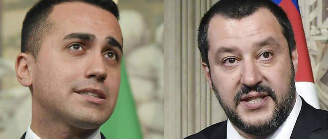 """Les deux chefs politiques du gouvernement populiste italien, Matteo Salvini et Luigi Di Maio, ont spectaculairement apporté lundi leur soutien aux Gilets jaunes en France, se réjouissant de cette """"nouvelle Europe"""" en train de naître, à quelques mois des élections européennes."""