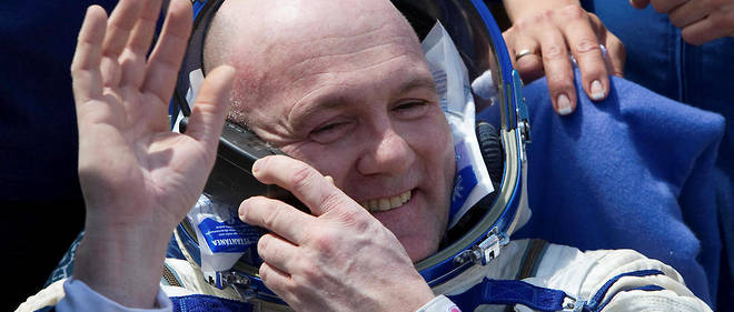 André Kuipers a fait deux séjours dans la Station spatiale internationale, en 2004 puis en 2011-2012.