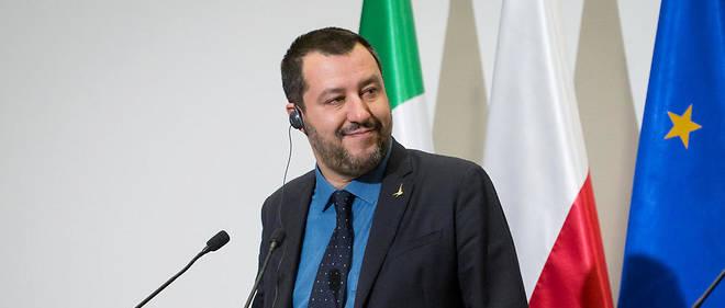 Matteo Salvini en visite en Pologne le 9 janvier.