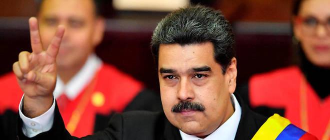 L'héritier de l'ex-président Hugo Chávez (1999-2013) entretient des  relations tendues avec le président français Emmanuel Macron, qui l'a  qualifié de « dictateur ».