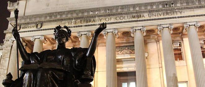 La bibliothèque du campus de l'université de Columbia à New York.