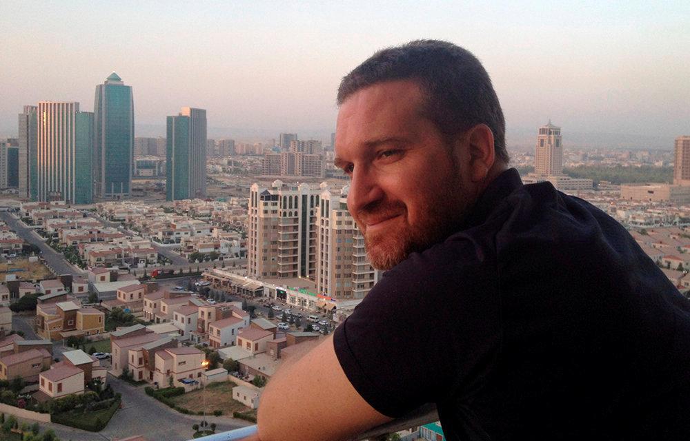 Boris James. Directeur de l'Institut français du Proche-Orient à Erbil (Kurdistan irakien) entre 2014et 2017.