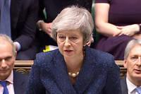 La Première ministre britannique est parvenue à l'impossible : trouver un accord de sortie du Royaume-Uni de l'Union européenne.  ©HO / AFP