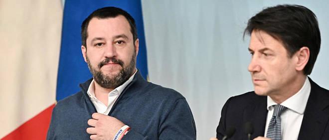 Le ministre de l'Intérieur Matteo Salvini et son Premier ministre Giuseppe Conte ont enfin tenu un discours commun auprès du commissaire européen chargé de l'Asile, Dimitris Avramopoulos.