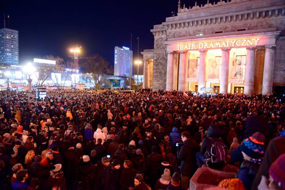 Pawel Adamowicz  ©  Marcin Wziontek/REX/Shutterstock/SIPA