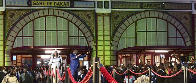 14 janvier 2019 : une date importante pour le président sénégalais Macky Sall ici lors de l'inauguration du premier tronçon des voies du TER, ouvrage emblématique du Plan Sénégal émergent (PSE).