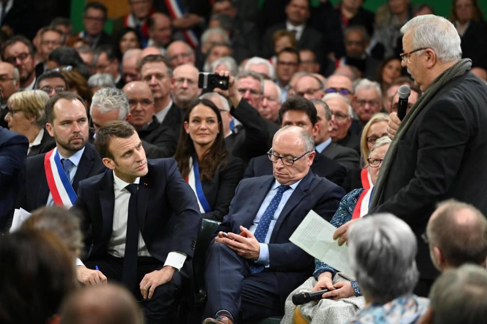 Emmanuel Macron © Elodie Gregoire Le Point