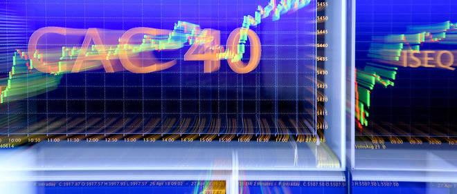 Le CAC 40 est valorisé à 1 447 milliards d'euros.