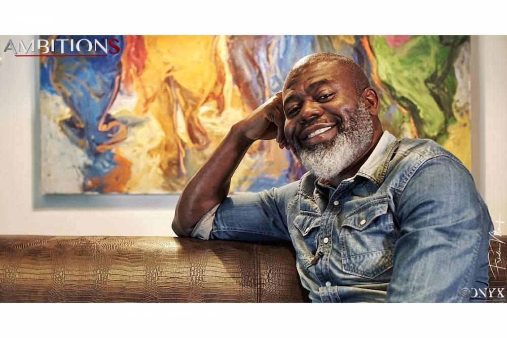 Alain Yav, la patron de Pygma communication. ©  Onyx / Frédie Marufu